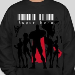 Brand new Super hero winter sweater all size
